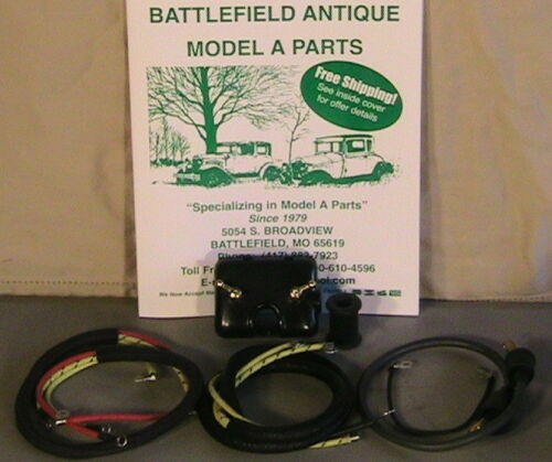 1928 1930 and 1931 Model A Ford Complete Engine Wiring Setup 1929