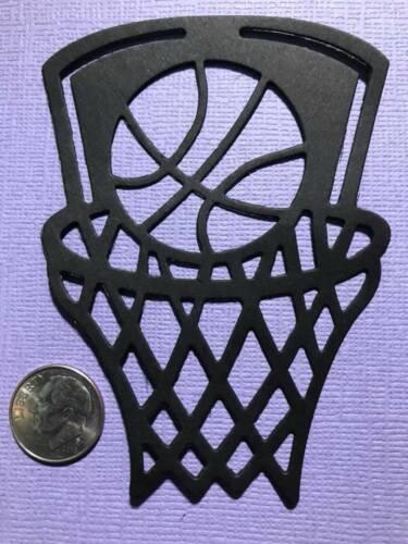 Scrapbook /& Card Making 4 Basketball Loops Premade PAPER Die Cuts