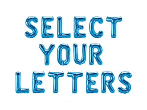 Blue-Air-Fill-Foil-A-Z-Letter-Balloon-Self-Inflating-Name-0-9-Number-Alphabet