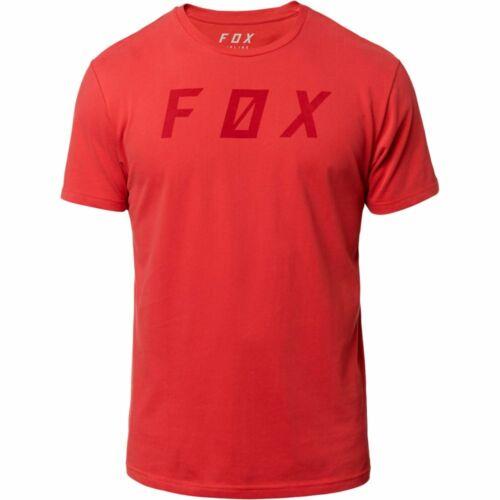 Fox Racing Backslash Airline Mens Short Sleeve T-Shirt Rio Red