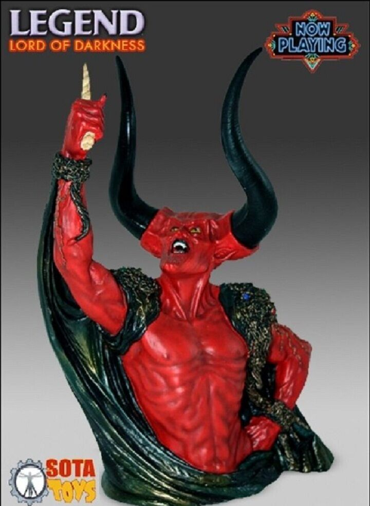LORD OF DARKNESS bust statue Sota figure