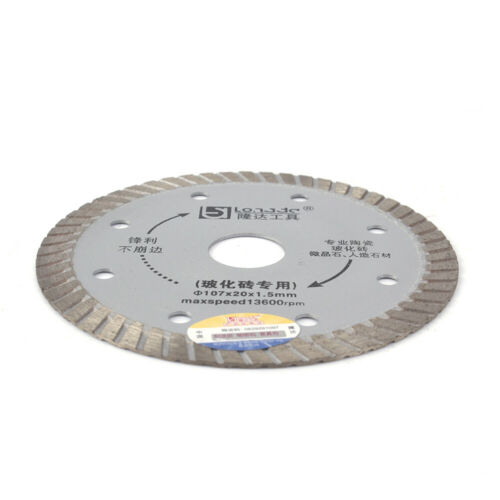 "4/"" Diamond Circular Saw Blade Cutting Disc Cut Off Concrete Ceramic Granite Tool"