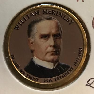 2013 S Proof William McKinley Presidential Dollar Deep Cameo Flat Rate Shipping