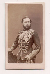 Vintage-CDV-King-Edward-VII-of-Great-Britain-W-amp-D-Downey-Photo