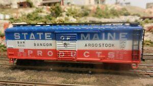 AHM-IHC-Rocco-HO-BAR-State-Of-Maine-40-039-Boxcar-Exc