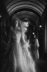 Framed Print Vintage Spirit Photography Old Victorian Paranormal Gothic Art