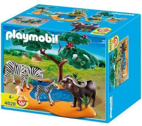 Búfalo con Cebras - Playmobil WILDLIFE 4828 - NUEVO