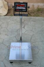 Op 915 300 Lb Digital Bench Scale 16x 16 Legal For Trade Shipping Scale