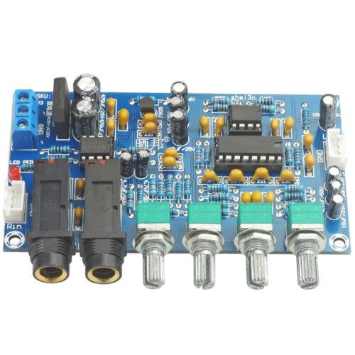 Dual Power AC 12V Microphone Ampifier Board Digital Reverb Sound AMP Module