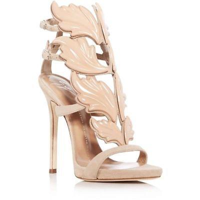 GIUSEPPE ZANOTTI Coline Cruel Wing High Heel Sandals, Burgandy