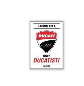 DUCATI-Kuehlschrank-Fridge-Magnet-DUCATI-Corse-Racing-Area-rot-NEU-2020