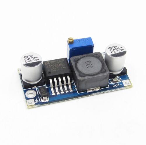 5PCS LM2596 DC-DC adjustable power step-down module LM2596