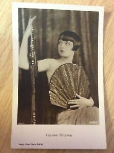 Louise-Brooks-alte-Ross-Starpostkarte-Nr-1879-1