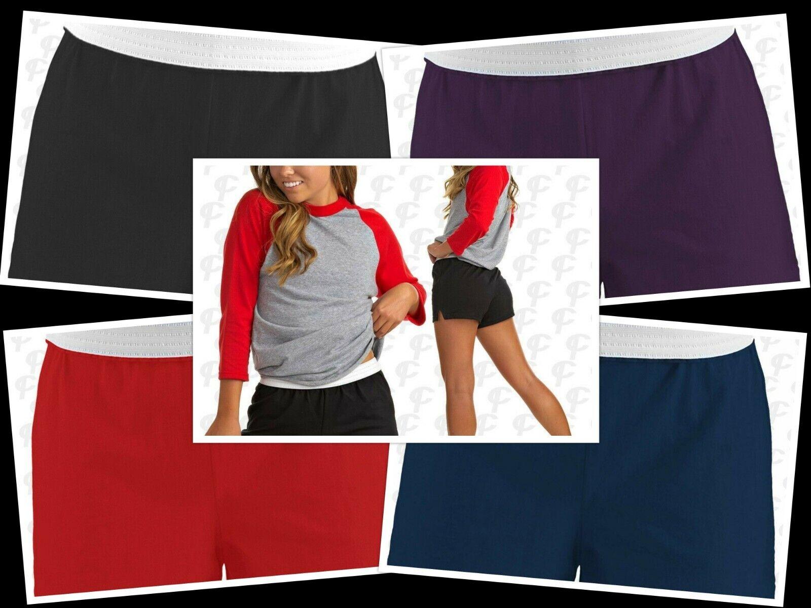Soffe Cheerleading Dance Gym Cheer Shorts, Medium, Various Colours, New