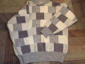 Image is loading Hilda-Ltd-Vintage-Pullover-Wool-Sweater-Mens-L- 7957dab94