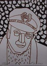 ARROYO Eduardo Hans Albers lithographie litografia signée numérotée cachet sec