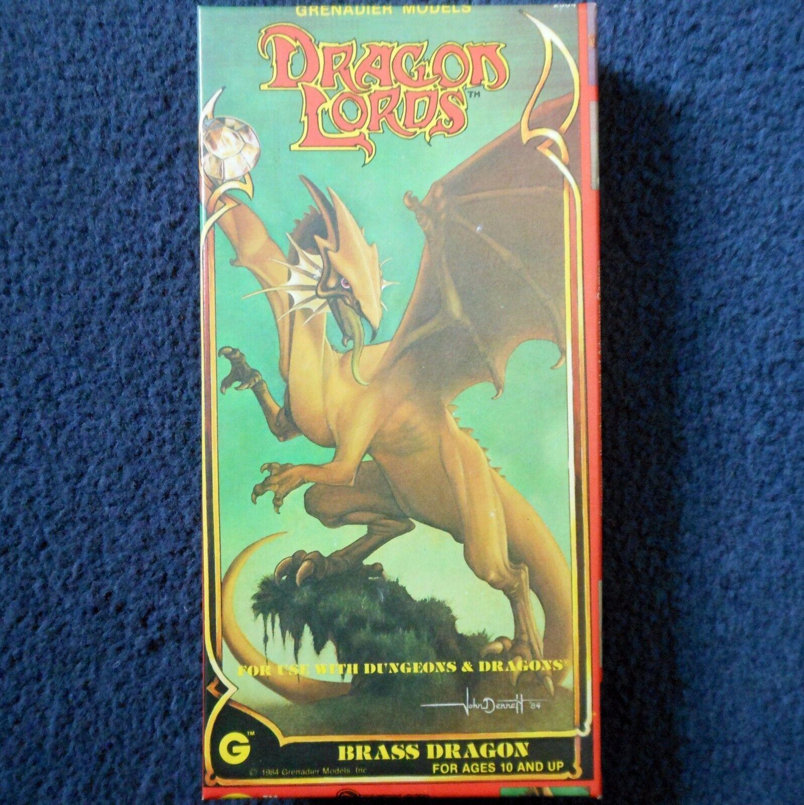 opciones a bajo precio 2018 Señores Dragón De Bronce Bronce Bronce Granadero Modelos 2504 Dungeons & Dragons AD&D Wyrm En Caja  Tu satisfacción es nuestro objetivo