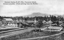 Photo. 1900s. Duncan, BC Canada. Esquimalt & Nanaimo Rain Station