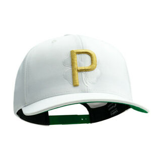Limited-Edition-Puma-P-Shamrock-Players-Clover-Snapback-Hat-RICKIE-FOWLER