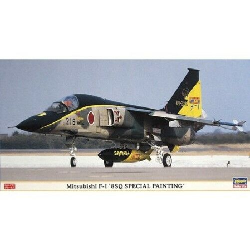 Hasegawa 1 48 Mitsubishi F-1 8SQ Special Painting Model Kit NEW from Japan