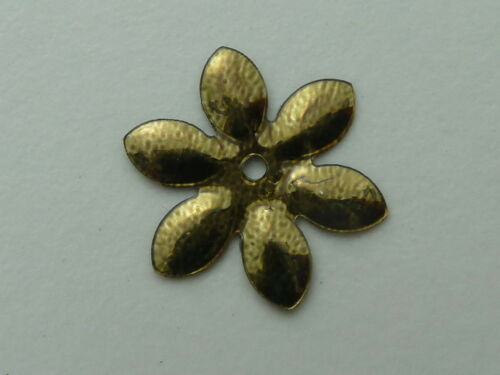 200 APPX BTIFUL SHIMMERING FLOWER SEQUINS GOLD ON BLACK