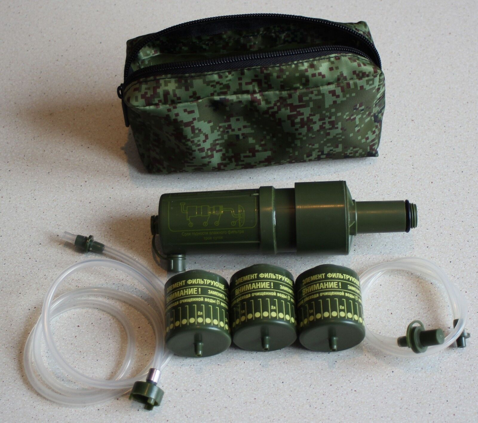 Original Individual military water filter NF-10 Russian Army Special  Forces  New  online shopping sports