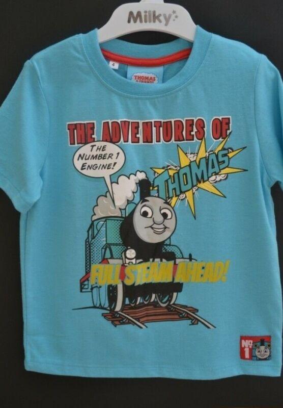 Thomas The Tank Boys Top Sz 4 Bnwt Tee T-shirt Shirt New Thomas And Friends