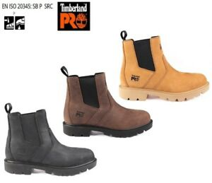 Details about TIMBERLAND Sawhorse Dealer Boots Pro Safety Work Leather Size  6 - 14 UK