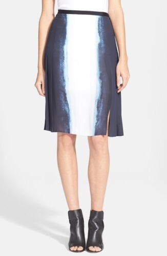 Vertical Dip Dye Pleated Skirt VINCE 6