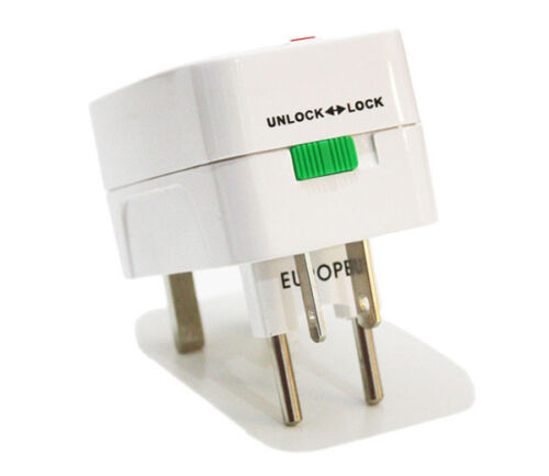 HOT International Universal Travel Power Plug AC Adapter Converter UK US EU AU