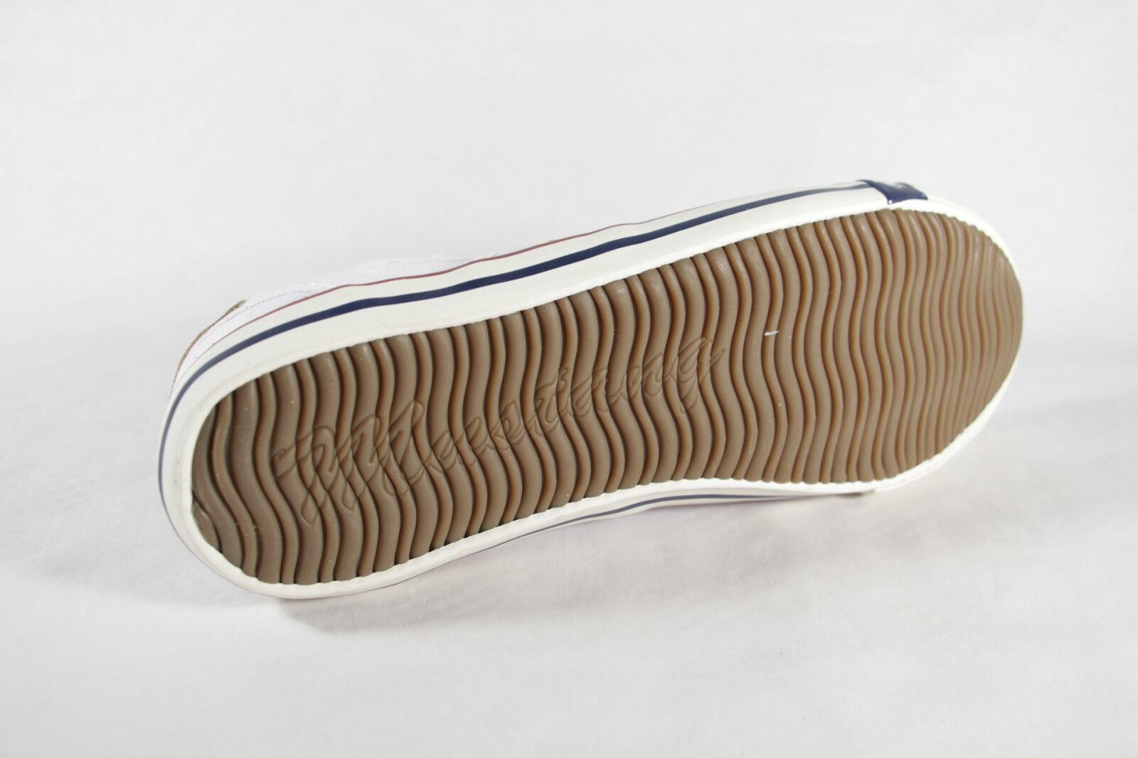 Mustang Slipper Sneakers Halbschuhe Gummisohle weiss Stoff Gummisohle Halbschuhe NEU bcbfaf
