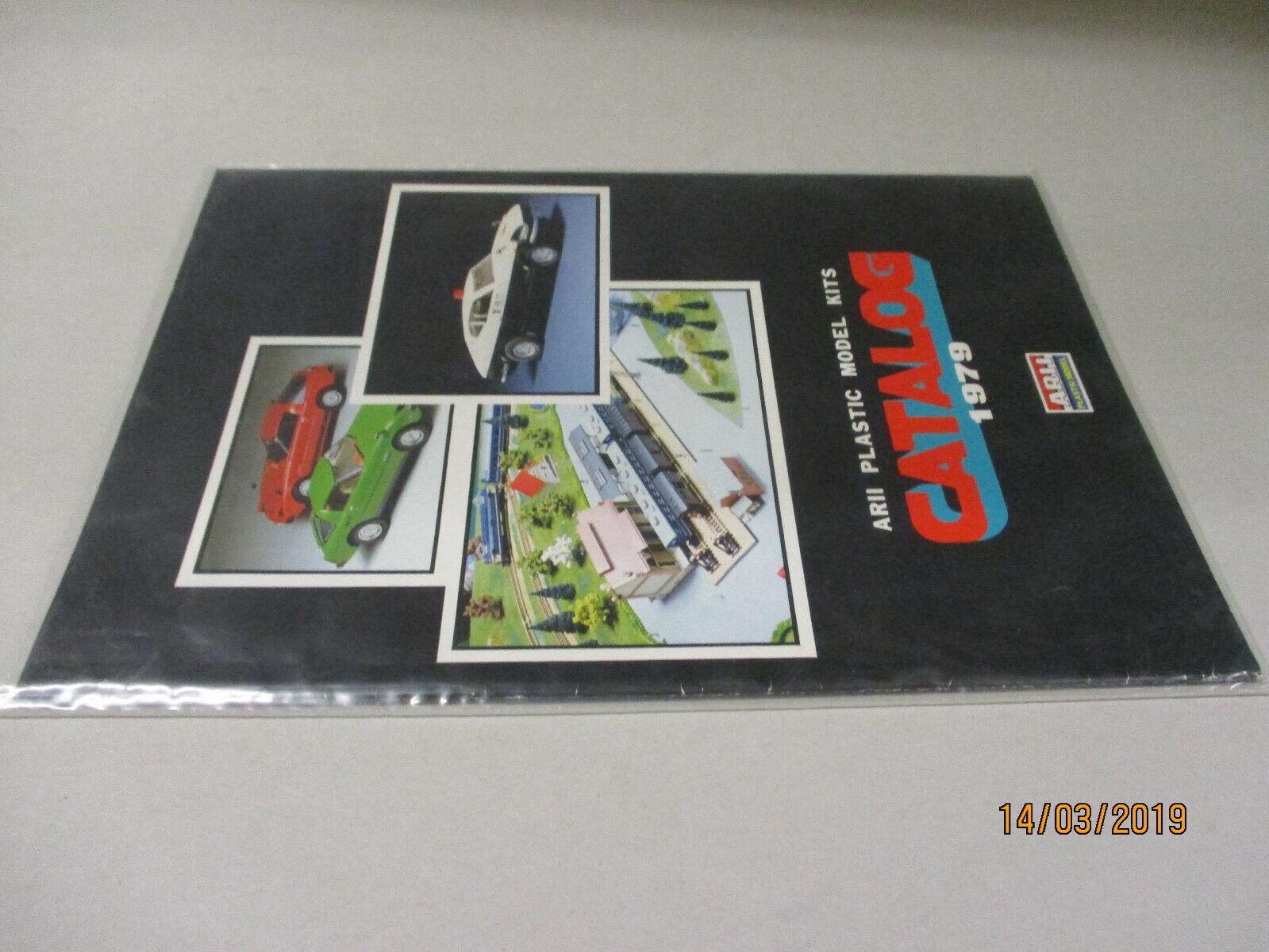 ARII ARII ARII Model Bausätze Katalog  1979  | Bunt,  05d74b