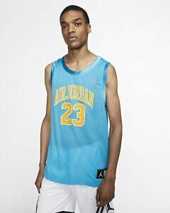 Adjunto archivo odio Mansión  Jordan DNA Distorted Basketball Jersey Mens Light Blue Fury Top AJ1140-433  | eBay