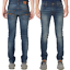 Nudie-Herren-Slim-Fit-Stretch-Jeans-Hose-Thin-Finn-Blau-Schwarz-B-Ware-NEU Indexbild 27