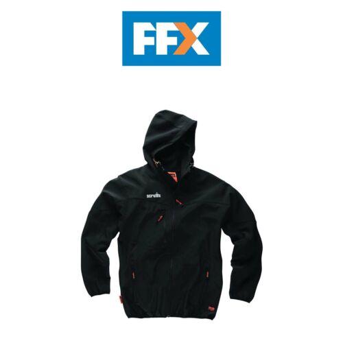 Scruffs T 54850 divers Travailleur Softshell Veste Différentes Tailles Noir