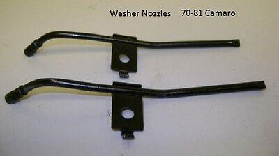 L//R PAIR WINDSHIELD WASHER NOZZLES; 67-69 CAMARO