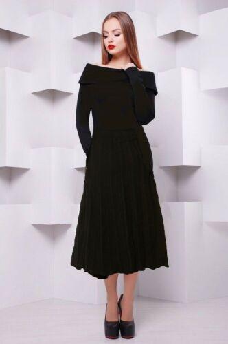 2018 Designer M taglia Jumper Millen Karen Bardot L Neck maglia TEfU5SRwqx