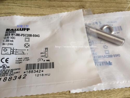 1PC NEW BALLUFF sensor BES M12MI-PSH80B-S04G #SPK1