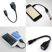 OTG Adapter USB 2.0 A Buchse Auf Micro B Stecker Konverter Kabel Für SmartPhone