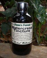 Watercress (nasturtium Officinalis) Tincture, 16 Oz