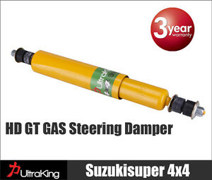 Nissan-GQ-Y60-Patrol-Steering-Damper-Stabiliser-set-4x4-Heavy-Duty-1989-1997