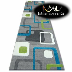 CHEMIN-DE-TABLE-Tapis-FOCUS-F240-turquoise-moderne-Escaliers-largeur-70cm