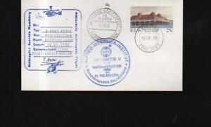 (a65362) Allemande Antarctique Expédition 1986 Lettre Enveloppe Avec Polarsternstem-ition 1986 Briefkuvert Mit Polarsternstemfr-fr Afficher Le Titre D'origine