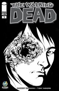 WALKING DEAD #1 Portland 2015 Wizard World Comic Con Exclusive Variant Sketch BW
