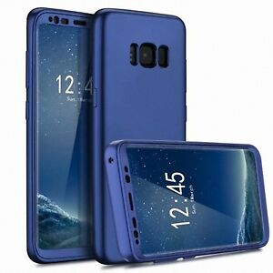 Samsung-Galaxy-S8-Plus-S8-360-Hard-Case-Cover-Clear-Shockproof-Slim-Protective