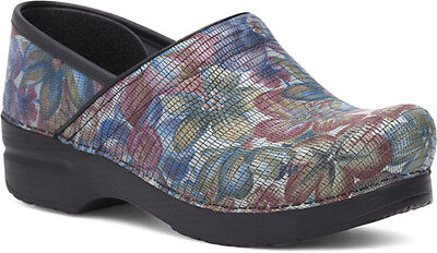Practical Dansko Professionale Clog Esotici Floreale Verniciata Misure Da Donna Complete In Specifications Women's Shoes Comfort Shoes