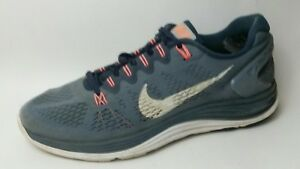 wholesale dealer 107b1 d59b1 Details about Nike Lunarglide 5 Womens 11 M Sneakers Running Shoes Blue  Gray Orange 599395 414
