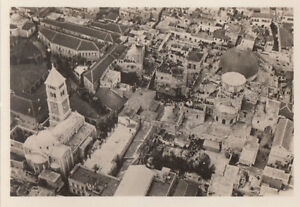 N-234-Holy-grave-church-Jerusalem-ZEPPELIN-Dirigible-AIRSHIP-CARD-IMAGE-30s