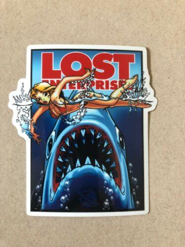 Lost Enterprise Jaws Surf Sticker