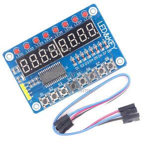 8-Bit-LED-8-Bit-Digital-Tube-8-Bit-Key-TM1638-module-for-AVR-Arduino-ARM-STM32